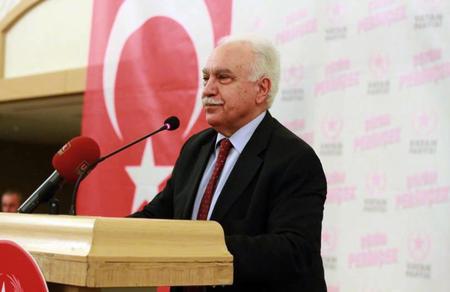 """Dr. Doğu Perinçek: """"Mehmetçiğin zaferi için milletçe her göreve hazırız"""""""