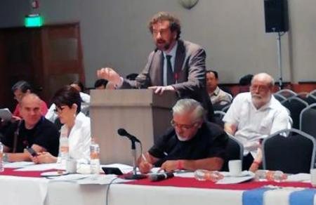Vatan Partisi heyeti Meksika Emek Partisi'nin uluslararası kongresine katıldı