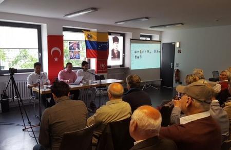 Vatan Partisi Frankfurt, Venezuela ile dayanışma konferansı düzenledi