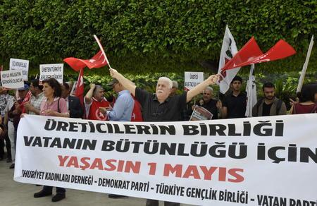 Adana İl Başkanlığımız, 1 Mayıs'ı kutladı