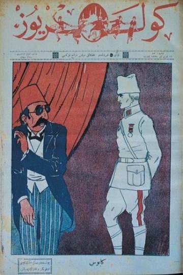 """Güleryüz Dergisi, 16 Kasm 1922, """"Kabus"""""""