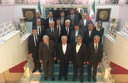 Doğu Perinçek, İran Büyükelçisisinin iftar davetine katıldı