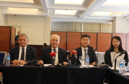 Türkiye'mizin üreticilerini Çinli ortaklarıyla buluşturmak için işbaşı yapıyoruz