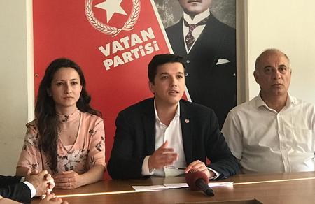Seçim sonuçlarında Vatan Partisi'ne sansür!