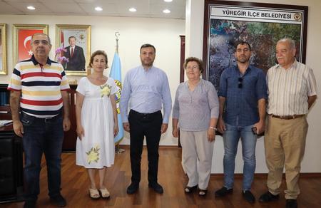 Adana İl Başkanlığımızdan, Yüreğir İlçe Belediyesine ziyaret