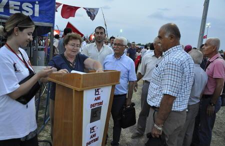 Vatan Partisi Adana 15 Temmuz'da meydanlardaydı