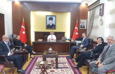 Balıkesir İl Başkanlığımız, Balıkesir Valisi Ersin Yazıcı'yı ziyaret etti