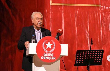 Doğu Perinçek: HDP'ye belediye, Mehmetçiğe kurşundur!