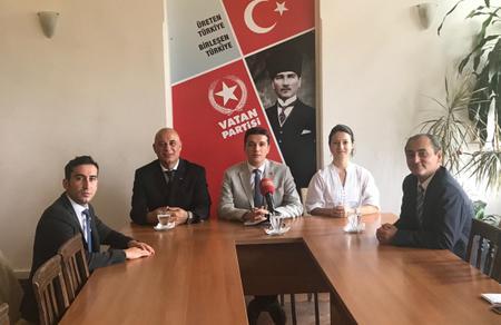 Vatan Partisi dostluk köprülerini güçlendirmeye devam ediyor