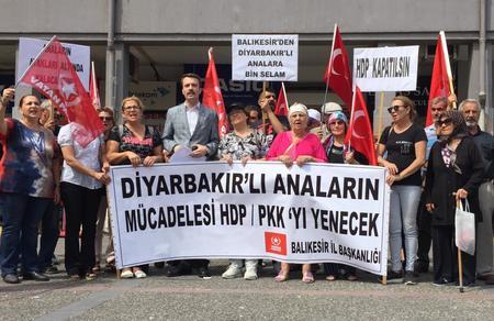 Balıkesir İl Başkanlığımızdan, Diyarbakırlı analara destek