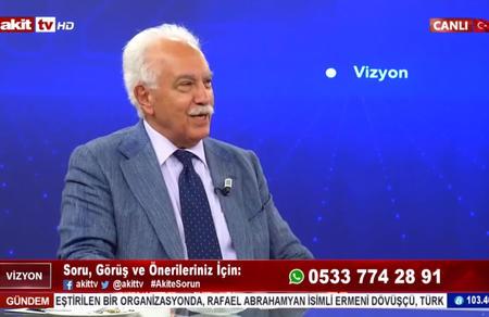 Akit yazarı Koçak: Türkeş ve Erbakan 'Doğu Perinçek büyük vatanseverdir' derdi