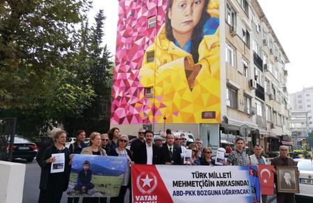 Vatan Partili sanatçılardan 'Greta' protestosu