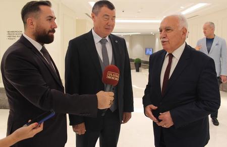 Perinçek ve Kabayev görüştü