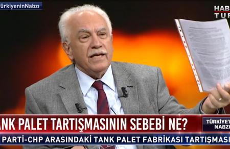 Doğu Perinçek Habertürk TV'ye konuk oldu