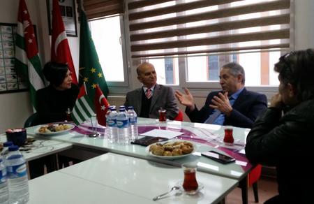 Düzce İl Başkanlığımızdan Abhaz Kültür Derneğine ziyaret