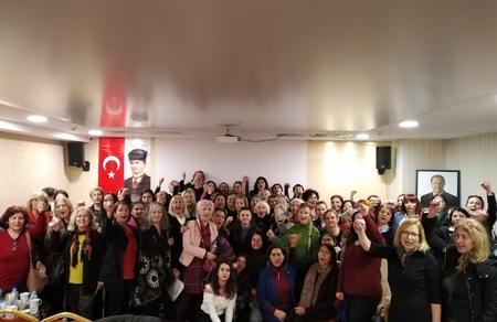 Öncü Kadın İstanbul İl Kurultayı tamamlandı