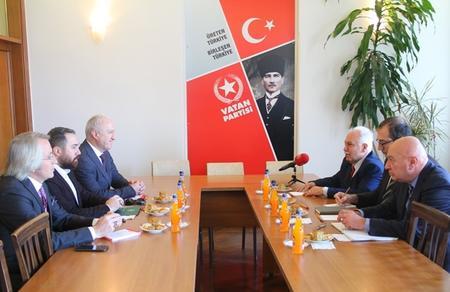 Abhazya Cumhurbaşkanı'ndan Doğu Perinçek'e mektup