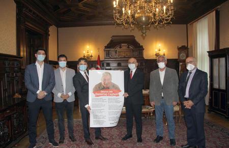 Parti heyetimizden Viyana Büyükelçisi'ne ziyaret