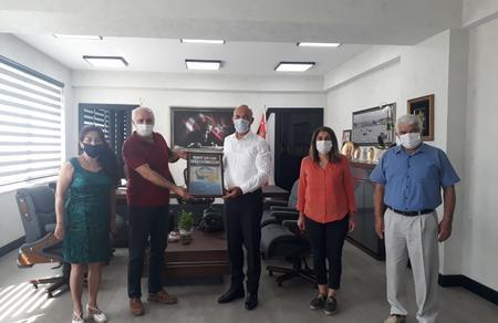 Mersin İl Başkanlığımızdan, İl Emniyet Müdürüne Mavi Vatan ziyareti