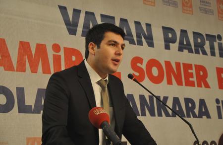 Vatan Partisi Genel Sekreterliğine Özgür Bursalı seçildi