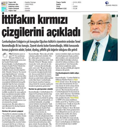 210114 Gazete Damga - İstanbul