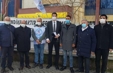 Özgür Bursalı'dan İzmir'deki vatan ve emek nöbetçilerine ziyaret