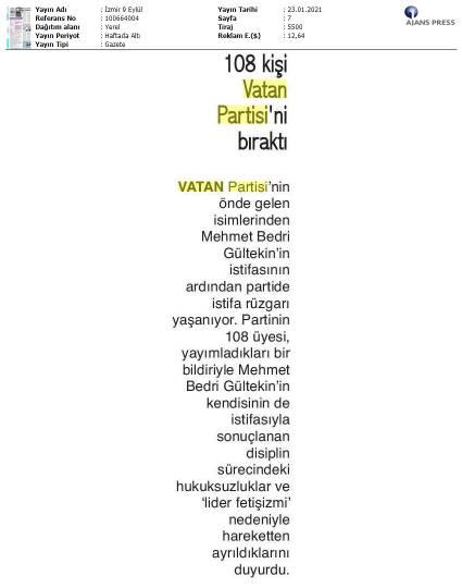 210123 İzmir 9 Eylül