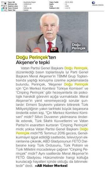 210130 Anadolu'da Bugün - Konya
