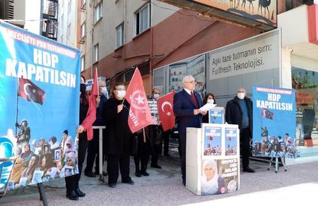 """Mersin İl Başkanlığımızdan """"HDP Kapatılsın"""" açıklaması"""