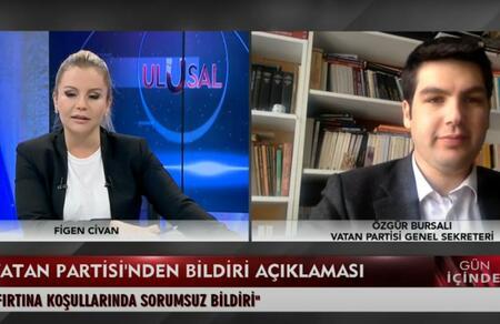 Özgür Bursalı'dan 103 emekli amiralin bildirisine karşı açıklama