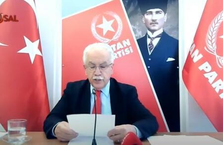 Doğu Perinçek, Dünya Marksist Partiler Sempozyumu'nda konuştu