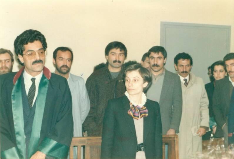 2000'e Doğru Dergisi Sorumlu Yazı İşleri Müdürü Fatma Yazıcı, Devlet Güvenlik Mahkemeleri'nin 'korkulu rüyasıydı'.