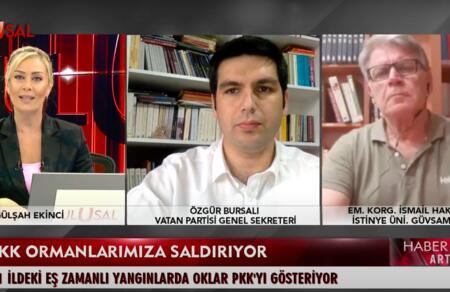 Özgür Bursalı: Ormanları yakan çakmak AYM Başkanı Zühtü Arslan'ın elindedir