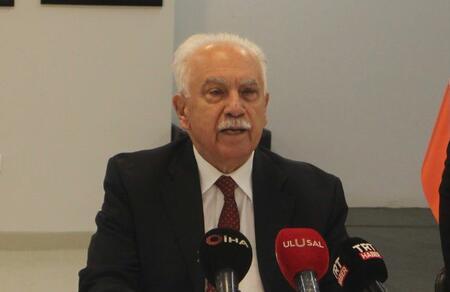 """Doğu Perinçek: """"TBMM'de çözüm"""" söylemi PKK'yı kurtarmak içindir"""