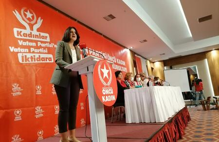 Vatan Partisi Öncü Kadın 11. Genel Kurultayı gerçekleşti