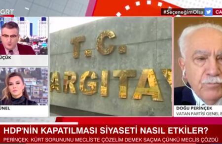 Doğu Perinçek: TBMM toplanmalı ve Kürt sorununu çözdüm diye ilan etmelidir